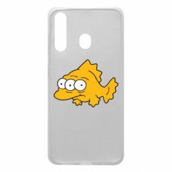 Чехол для Samsung A60 Simpsons three eyed fish