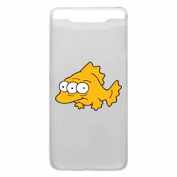 Чехол для Samsung A80 Simpsons three eyed fish