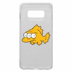 Чехол для Samsung S10e Simpsons three eyed fish