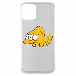 Чехол для iPhone 11 Simpsons three eyed fish