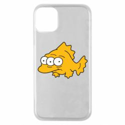 Чохол для iPhone 11 Pro Simpsons three eyed fish