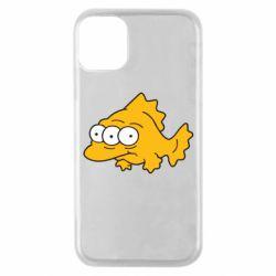 Чехол для iPhone 11 Pro Simpsons three eyed fish