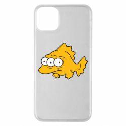 Чехол для iPhone 11 Pro Max Simpsons three eyed fish