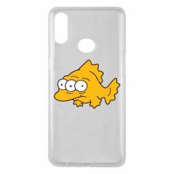 Чехол для Samsung A10s Simpsons three eyed fish