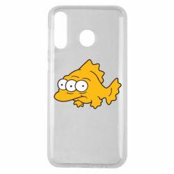 Чехол для Samsung M30 Simpsons three eyed fish
