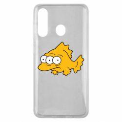 Чехол для Samsung M40 Simpsons three eyed fish