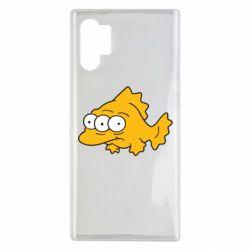 Чехол для Samsung Note 10 Plus Simpsons three eyed fish