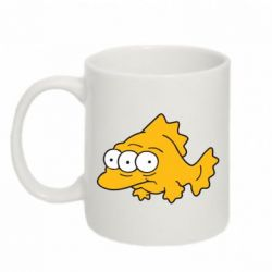 Кружка 320ml Simpsons three eyed fish - FatLine