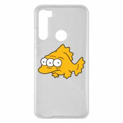 Чехол для Xiaomi Redmi Note 8 Simpsons three eyed fish