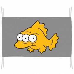 Прапор Simpsons three eyed fish