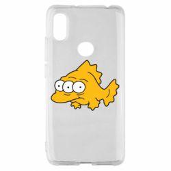 Чохол для Xiaomi Redmi S2 Simpsons three eyed fish
