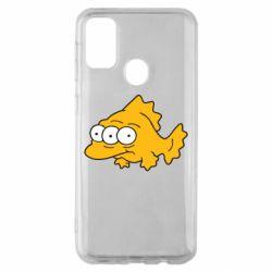 Чехол для Samsung M30s Simpsons three eyed fish