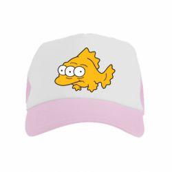 Детская кепка-тракер Simpsons three eyed fish