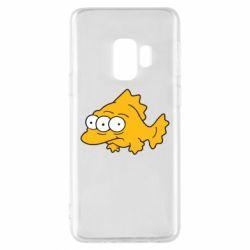 Чехол для Samsung S9 Simpsons three eyed fish
