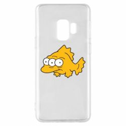 Чехол для Samsung S9 Simpsons three eyed fish - FatLine