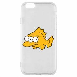 Чехол для iPhone 6/6S Simpsons three eyed fish - FatLine