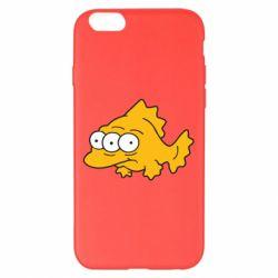 Чехол для iPhone 6 Plus/6S Plus Simpsons three eyed fish - FatLine