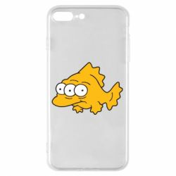 Чехол для iPhone 7 Plus Simpsons three eyed fish - FatLine