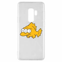 Чехол для Samsung S9+ Simpsons three eyed fish