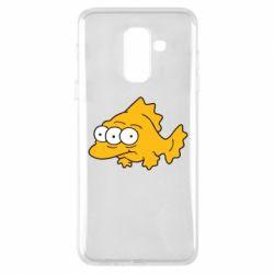 Чехол для Samsung A6+ 2018 Simpsons three eyed fish