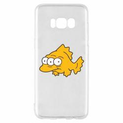 Чехол для Samsung S8 Simpsons three eyed fish