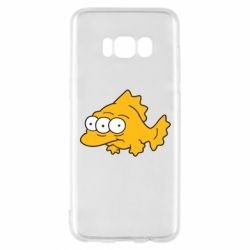 Чехол для Samsung S8 Simpsons three eyed fish - FatLine