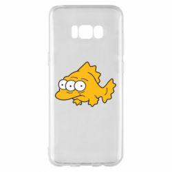 Чехол для Samsung S8+ Simpsons three eyed fish