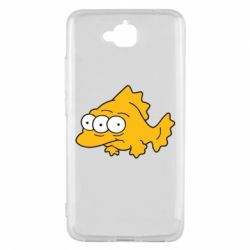 Чехол для Huawei Y6 Pro Simpsons three eyed fish - FatLine