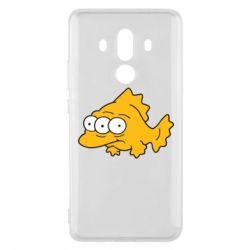 Чехол для Huawei Mate 10 Pro Simpsons three eyed fish - FatLine
