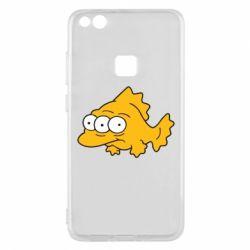Чехол для Huawei P10 Lite Simpsons three eyed fish - FatLine