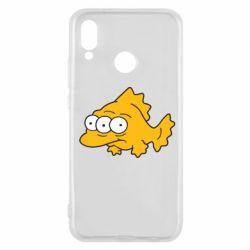 Чехол для Huawei P20 Lite Simpsons three eyed fish - FatLine
