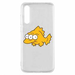 Чехол для Huawei P20 Pro Simpsons three eyed fish - FatLine