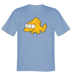 Мужская футболка Simpsons three eyed fish - FatLine