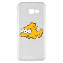 Чехол для Samsung A5 2017 Simpsons three eyed fish - FatLine