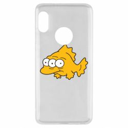 Чехол для Xiaomi Redmi Note 5 Simpsons three eyed fish - FatLine
