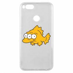 Чехол для Xiaomi Mi A1 Simpsons three eyed fish - FatLine