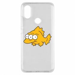 Чехол для Xiaomi Mi A2 Simpsons three eyed fish - FatLine