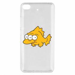 Чехол для Xiaomi Mi 5s Simpsons three eyed fish - FatLine