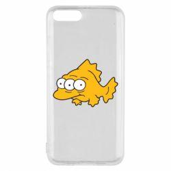 Чехол для Xiaomi Mi6 Simpsons three eyed fish - FatLine