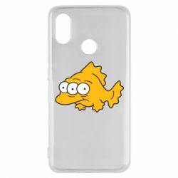 Чехол для Xiaomi Mi8 Simpsons three eyed fish - FatLine