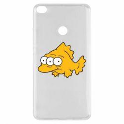 Чехол для Xiaomi Mi Max 2 Simpsons three eyed fish - FatLine
