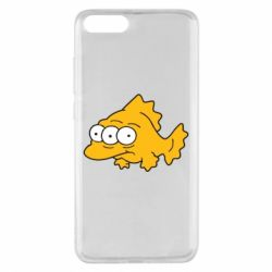 Чехол для Xiaomi Mi Note 3 Simpsons three eyed fish - FatLine