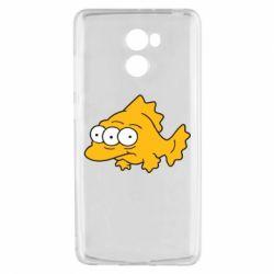 Чехол для Xiaomi Redmi 4 Simpsons three eyed fish