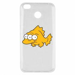 Чехол для Xiaomi Redmi 4x Simpsons three eyed fish - FatLine