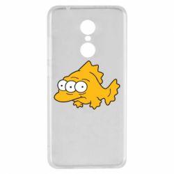 Чехол для Xiaomi Redmi 5 Simpsons three eyed fish - FatLine