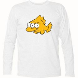 Футболка с длинным рукавом Simpsons three eyed fish - FatLine