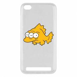 Чехол для Xiaomi Redmi 5a Simpsons three eyed fish - FatLine