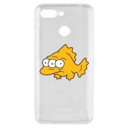 Чехол для Xiaomi Redmi 6 Simpsons three eyed fish - FatLine