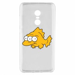 Чехол для Xiaomi Redmi Note 4 Simpsons three eyed fish - FatLine
