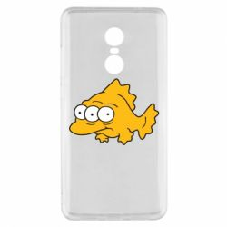 Чехол для Xiaomi Redmi Note 4x Simpsons three eyed fish - FatLine